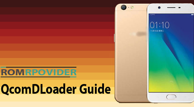 How to Flash official Rom by QcomDloader - ROM-Provider