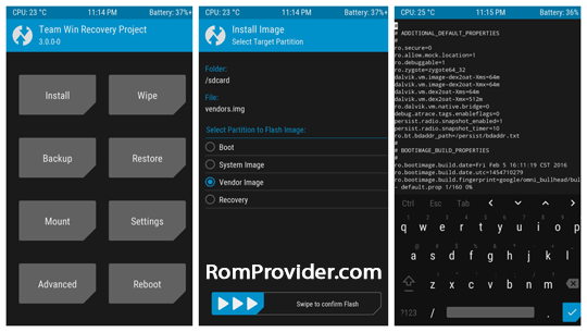 Download twrp for all Xiaomi Phone - ROM-Provider