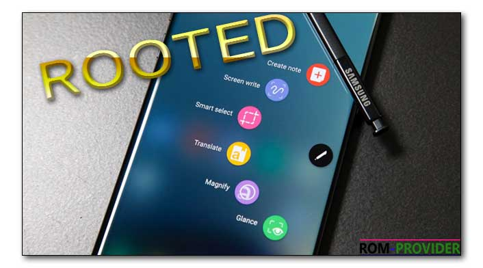 How to Root Samsung Galaxy Note 8 - ROM-Provider
