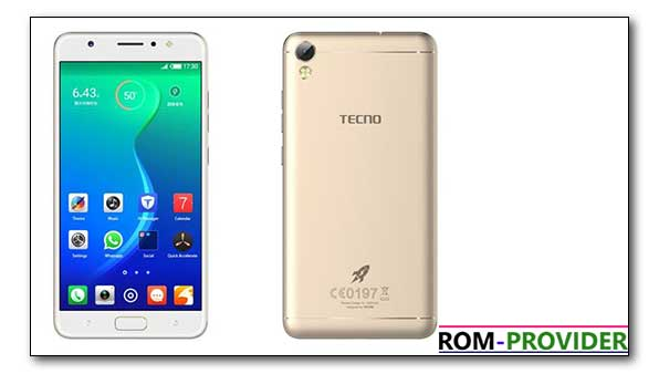 How to Install official firmware on Tecno i3 Pro - ROM-Provider