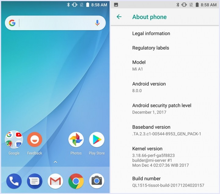 Download MI A1 Android one Launcher for all Phone [No Root