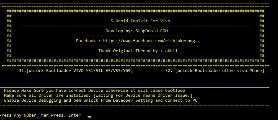 Download Vivo Bootloader unlocker - ROM-Provider