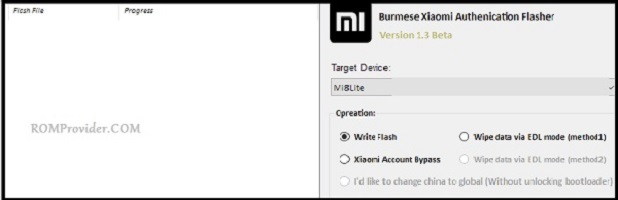Download Xiaomi Auth tool (Flasher) How to Bypass Authenication