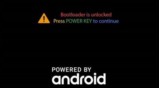 Remove bootloader unlocked Warning on Samsung SM-305G/FD